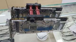 Dual liquid cooled EVGA GTX 780 (SLI capable) with EK waterblock