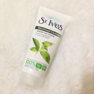 ST.IVES GREENTEA SCRUB FOR BLACKHEAD