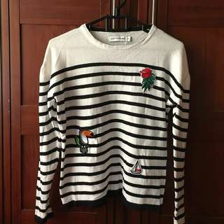 Sweater cotton ink raisa