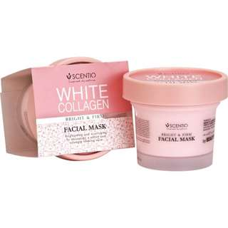 Scentio White Collagen Bright&Firm Facial Mask [JASTIP HANDCARRY THAILAND]