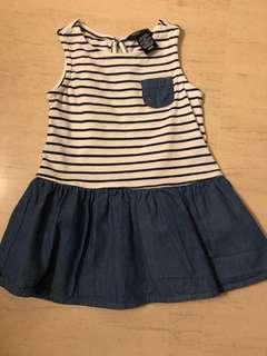 Nautica baby dress 12 months
