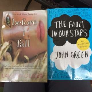 The Fault in Our Stars / Before I Fall