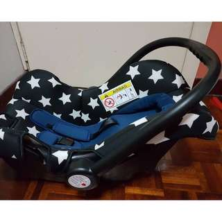 Sweet Cherry LB321 Star Muji Carseat (Blue SOLD OUT & Red AVAILABLE)