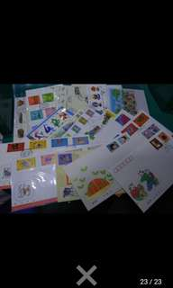 22 FDC included HK and CHina
