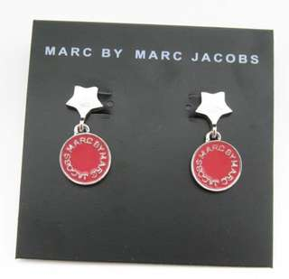 Marc Jacobs 銀星星星耳環