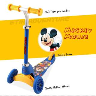 MESUCA Multi-Function kid scooters Mickey