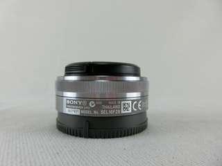 SONY SEL16F28 E接環 16mm F2.8 NEX專用 定焦鏡頭