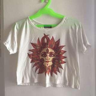 Sun crop top