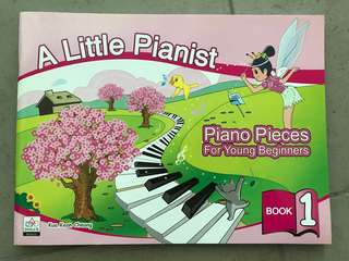 A Little Pianist (piano pieces for young beginners bk 1)