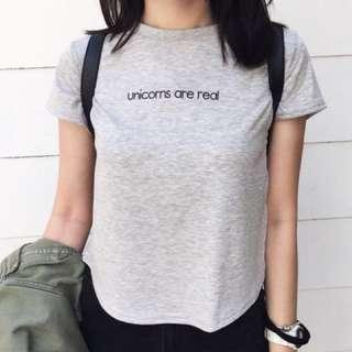 🚚 H&M Unicorns are real 短袖上衣