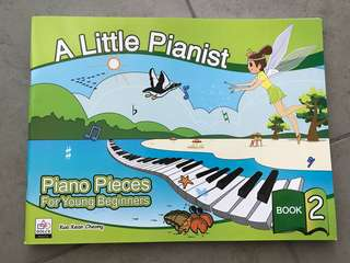 A Little Pianist (piano pieces for young beginners bk 2)