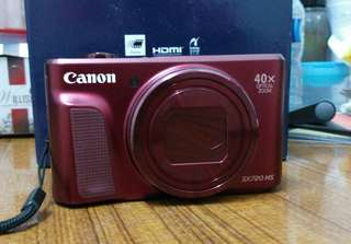 Canon SX720 HS Red Edition