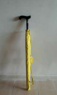 全新兩用拐杖.雨傘