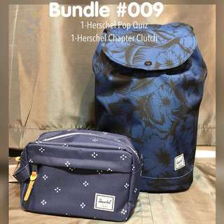 Herschel Bag and Pouch