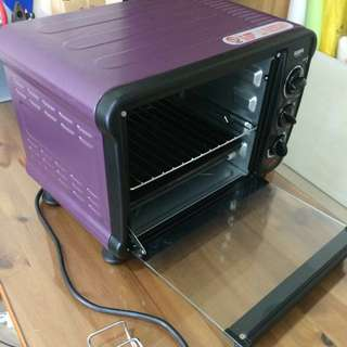 聲寶18公升電烤箱/9.9成新用過一次/免運含郵