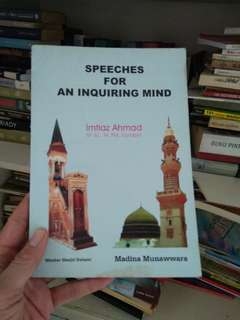 Speeches for an Inquiring Mind