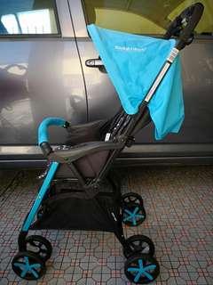 Sweet Heart Paris lightweight stroller - Blue