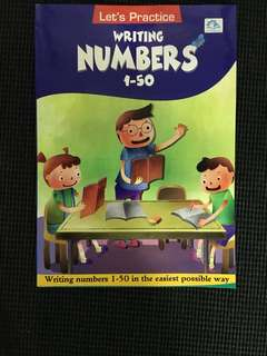 Writing Numbers 1-50