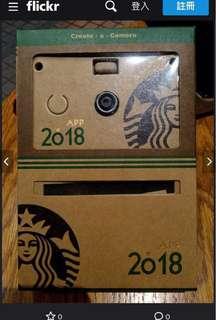 Starbucks星巴克20週年 夥伴限定紙可拍/紙相機