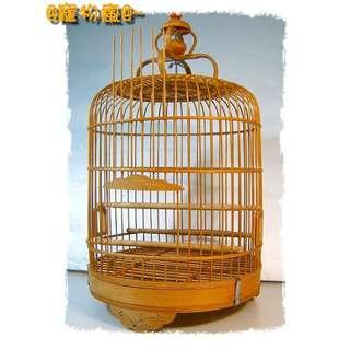@寵物瘋@~比人貴再降!竹製有底網鳥籠.竹籠.設計師的最愛!適合會場佈置.居家擺飾.或改造成氣氛燈飾!超有味道^^~!養鳥裝飾兩相宜!