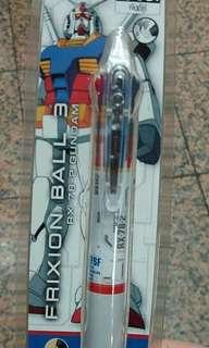 Frixon Gundam 高達 三色擦得甩原子筆