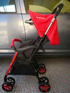 Sweet Heart Paris lightweight stroller - Red