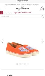 Kenzo Embroidered Espadrille