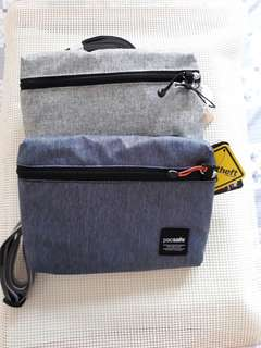 Pacsafe anti theft mini cross body