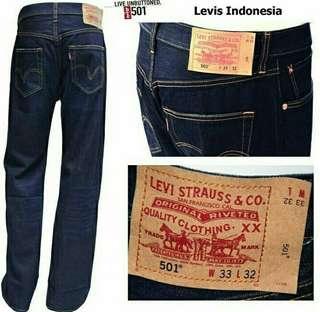 Terlaris !! Celana jeans pria Levi's (premium quality)
