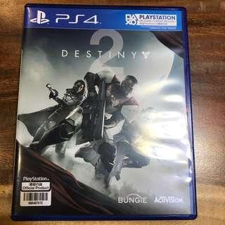 Destiny 2 PS4 Unredeemed code!