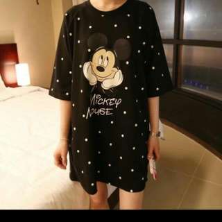 Mickey Mouse Loose Shirt