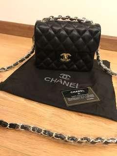 Inspired chanel mini square slingbag For Let Go!!