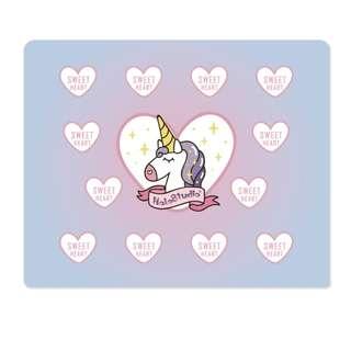 (PO) Unicorn Heart Ombre Mouse Pad