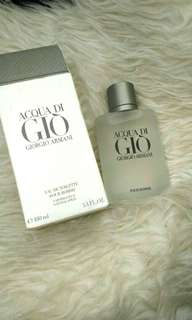 *authentic* GIORGIO ARMANI Acqua di Gio 100ml Edt