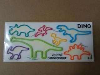 Dinosaur Rubberbands