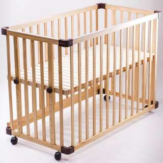 Jarrons & Co Happy Cot (natural colour) Used