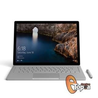 Microsoft	Surface Book i7 256GB 8GB RAM