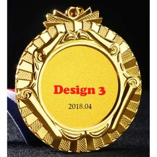 Customizable Sports Medals (D3)