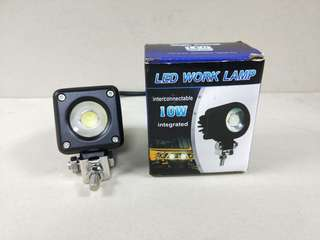 1 piece 10W Square Cree Led