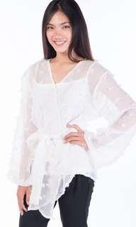 Myrubilicious white kimono