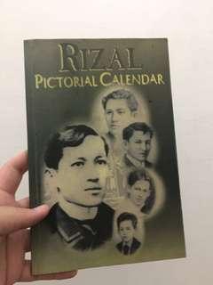 💥Rizal Pictorial Calendar