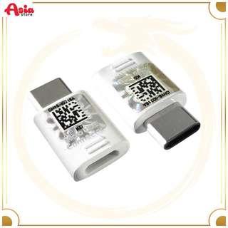 Original Converter Micro USB To Type C / White