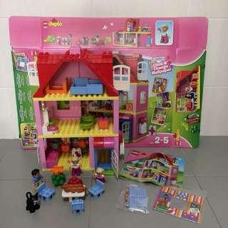 Preloved Lego Duplo 10505 Family House