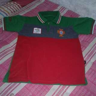 baju/atasan/kemeja/kaos pria hijau merah preloved/bekas