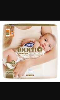 Drypers Touch size S + 35pcs