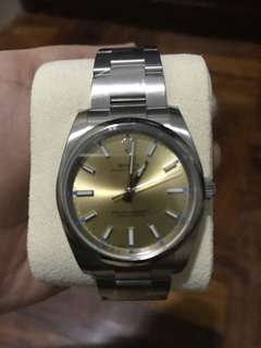 Authentic Rolex Watch size 33mm