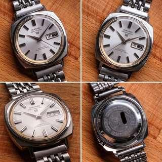 "Vintage Seiko watch in nice ""Camaro-style "" case"