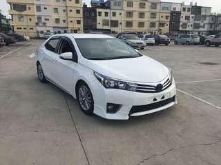 2014 New Altis 1.8 國民神車 妥善率超高 實車實價