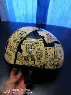 Tachibana half helmet