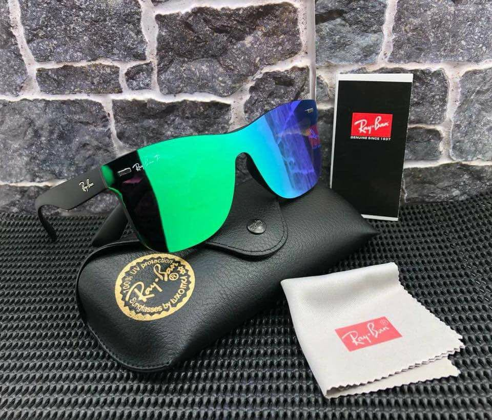 93fc74638 ... amazon 11 rayban justin blaze mens fashion accessories on carousell  9ddfc dcaec